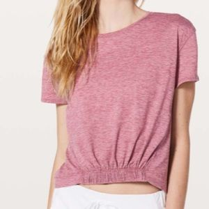 Lululemon short notice tee